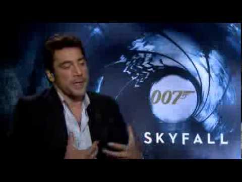 Entrevista en español con Javier Bardem - 'Skyfall'.