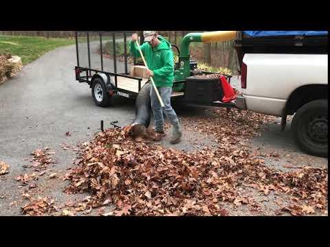 Simply Divine Leaf Cleanup Machine