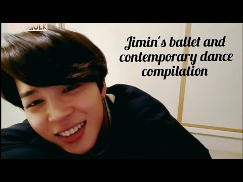 BTS Jimin's Ballet And Contemporary Dance Compilation ♡