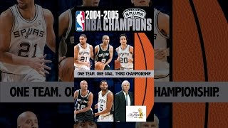 2005 NBA Champions: San Antonio Spurs