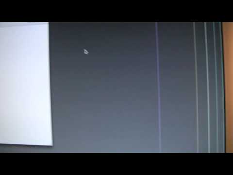 how to fix vertical lines imac