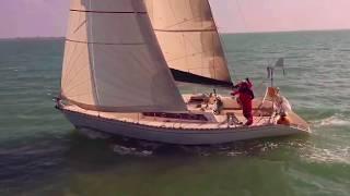 Arrivée de Louise - Ecole de voile a la Faute Sur Mer