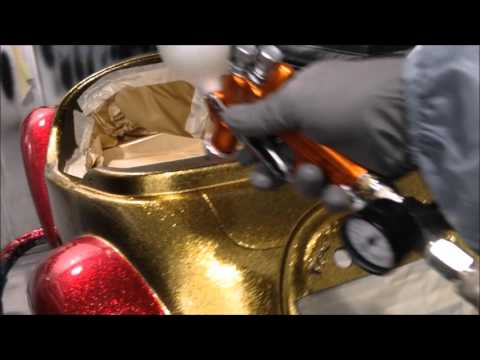 How To Spray Custom MetalFlake Paint How To Spray Clear Coat Like Glass Show Car Paint
