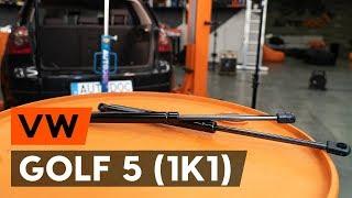 Как заменить амортизатор багажника на VW GOLF 5 (1K1) [ВИДЕОУРОК AUTODOC]