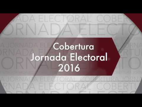 CORTV: Cobertura Jornada Electoral 2016