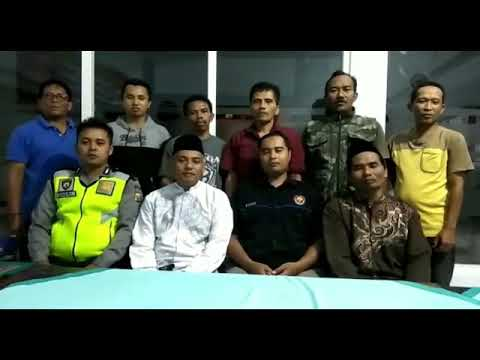 Deklarasi Tolak Hoax Bersama Masyarakat dan Pemerintahan Desa Sentul Purwodadi Pasuruan