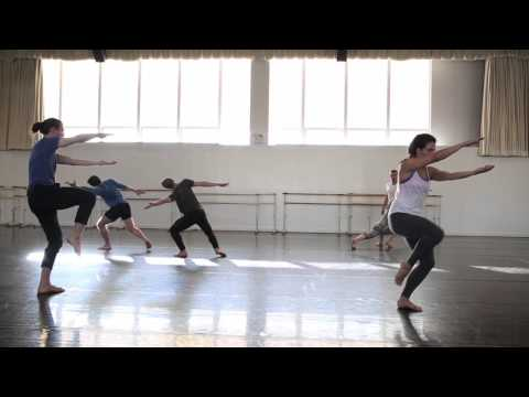 Liz Gerring and rehearsal for Horizon, October 2015