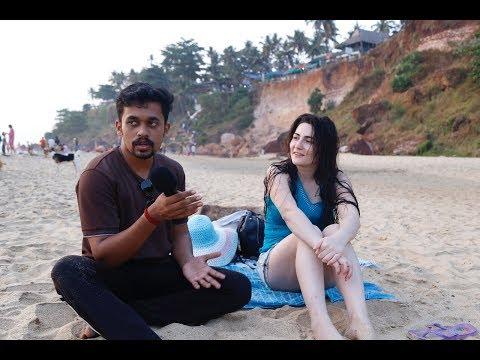 FUN at Varkala Beach | About Varkala | Slapstick | Sail To Kerala