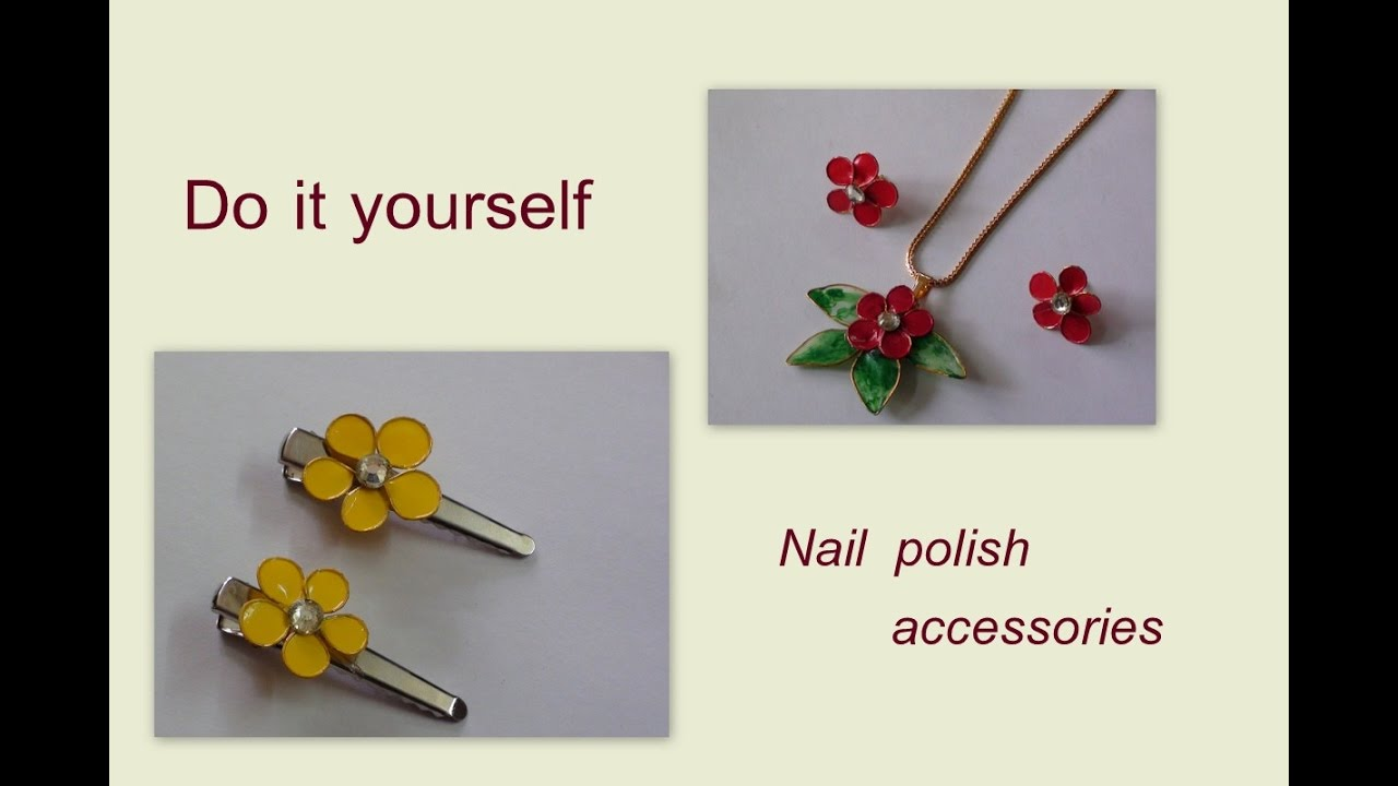 do it yourself nail polish accessories youtube. Black Bedroom Furniture Sets. Home Design Ideas