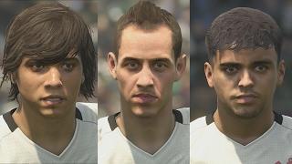 Новые лица игроков из Латинской Америки в DLC 3.00