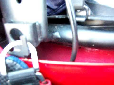 2008 Kawasaki Ninja 250r Helmet Locking System Youtube