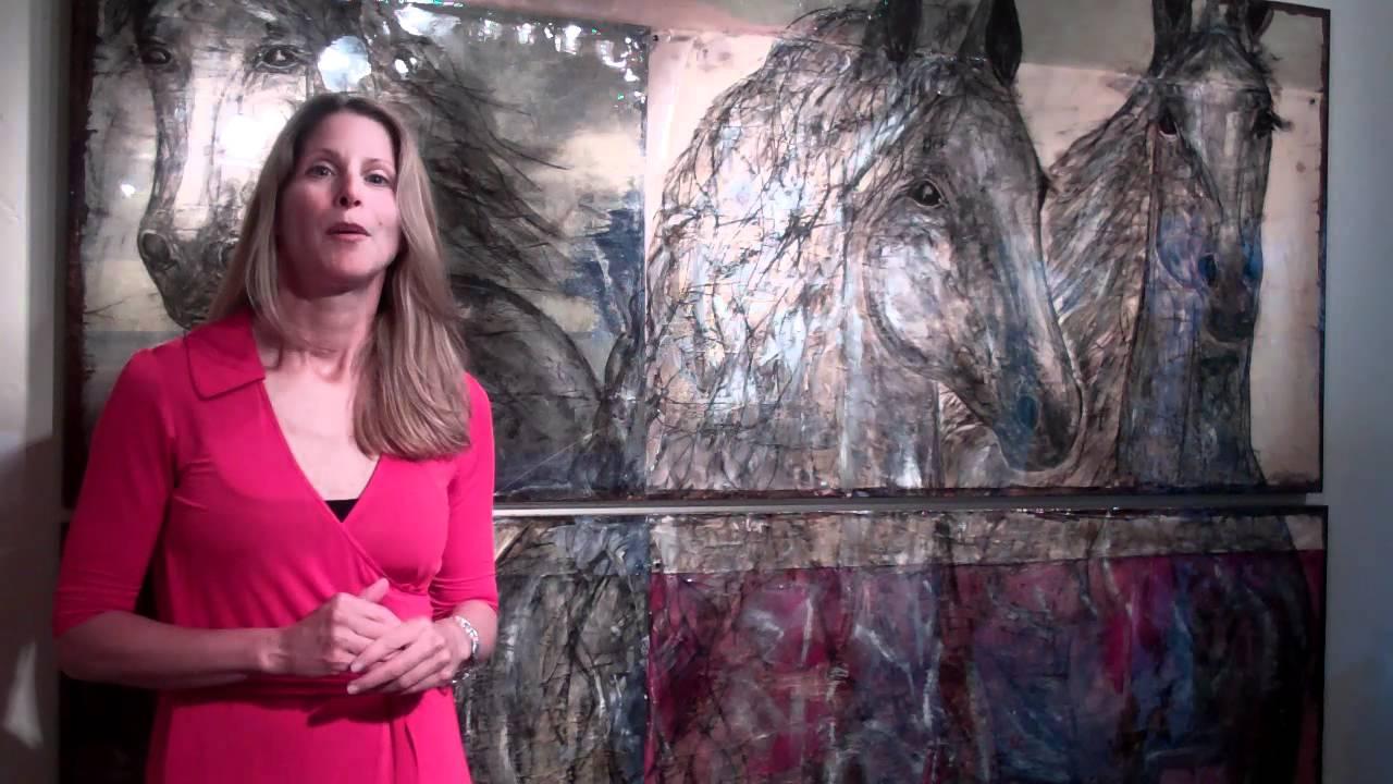Artist Sybil Hill Interview on Plum TV - YouTube