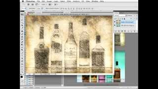#Photoshop Workbench 280: Filter Forge Old Drawing Blend Effect