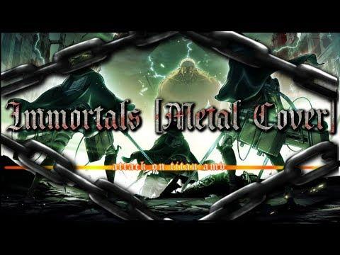 [SNK] Attack on Titan AMV - Fallout Boys - Immortals [Metal Cover]