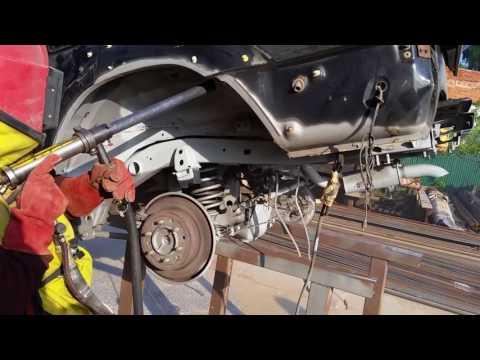 Цинкование кузова и рамы Тойота Прадо.