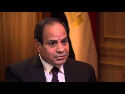Charlie Rose asked President El-Sisi why Bassem Youssef's program has been stopped