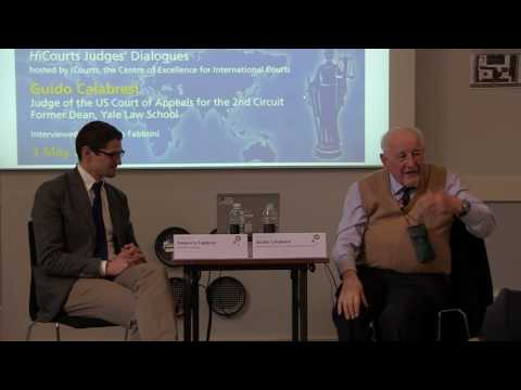 HiCourts Judges' Dialogues - Guido Calabresi