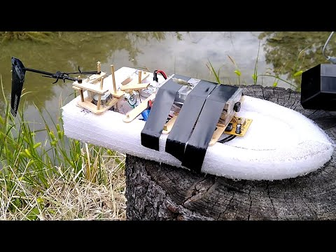 Фото FPV RC Boat made from GARBAGE!