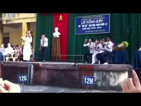 Xe Đạp 12D THPT Cẩm Giàng khóa 2011-2014 (Dung và Hãnh)