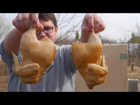 Курица холодного копчения в домашних условиях рецепт