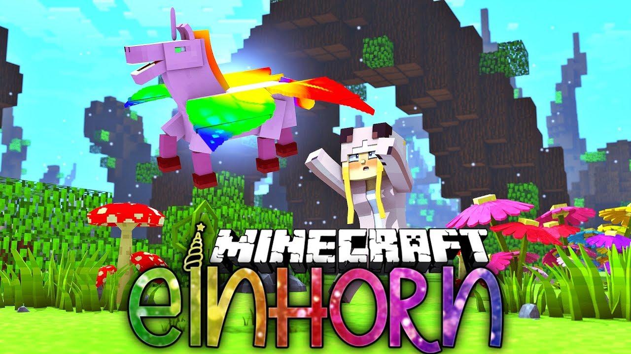 Minecraft Einhorn