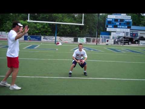 Bubby Brister (17) Quarterback Training Video