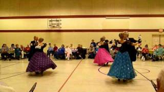 Viennese Waltz Performance - Roses Of The South.mov