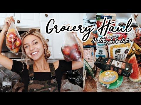 HUGE GROCERY HAUL🍌🥗 | MY DIET ESSENTIALS | Healthy & Not Strict