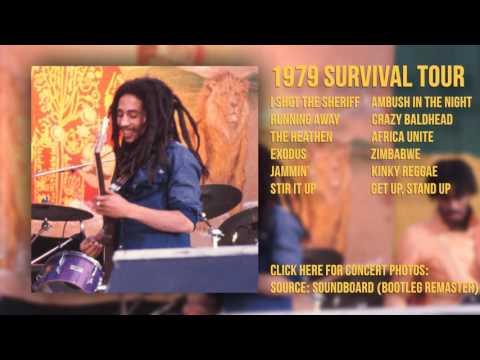 Bob Marley - Santa Barbara Bowl 11/25/79 (SBD - Bootleg Remaster)