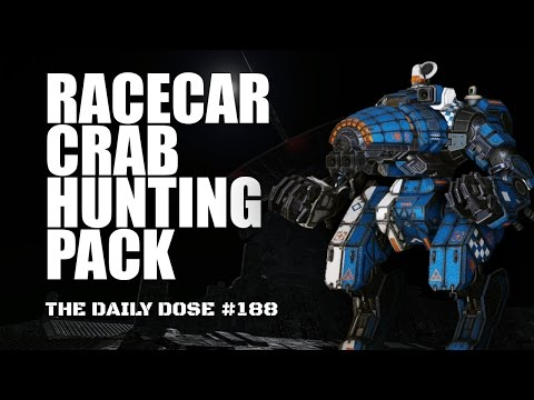 Racecar Crab Hunting Pack - CRB-20 - Mechwarrior Online The Daily Dose #188