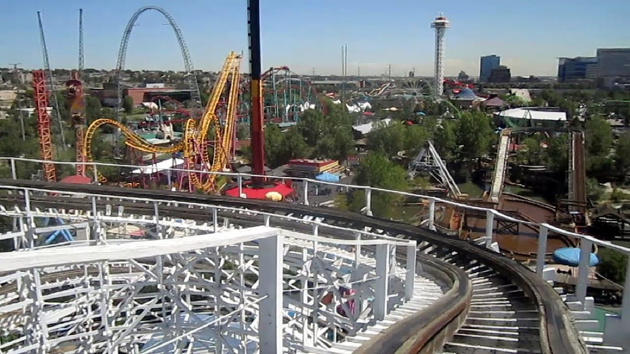 Twister Ii Front Seat On Ride Hd Pov Elitch Gardens Youtube