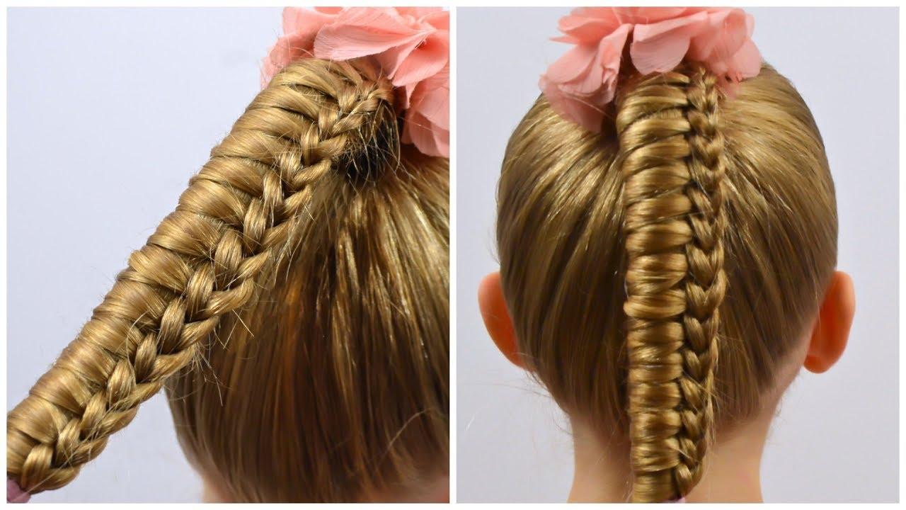 How To Knot Ladder Braid Tutorial By Littlegirlhair Little Girls Hairstyles 94 Lgh Youtube