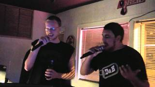 "Me and Mat doing Living Colour ""Cult of Personality"" Karaoke 8-4-2011"