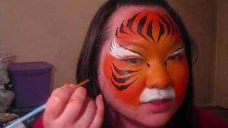 Tiger Face Painting Tutorial Thumbnail