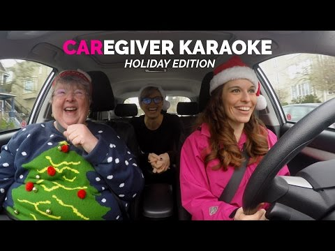 Christmas Caregiver Karaoke Ft. Katherine Penfold | 'All I want for Christmas' by Mariah Carey