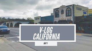 California | Vlog - Day 1