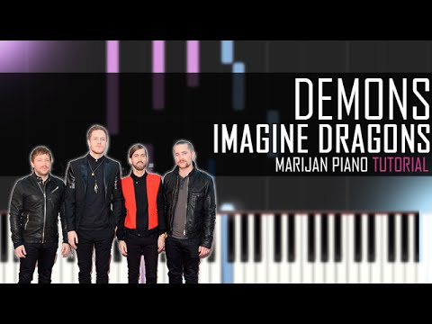 How To Play: Imagine Dragons - Demons (Piano Tutorial)