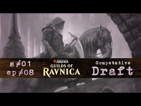 radio Kyoto s01 ep08 | Guilds of Ravnica Draft | MTG Arena