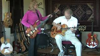 Me and Mrs. Jones - Jazz Guitar and Bass Instrumental Cover - Jim&Deb