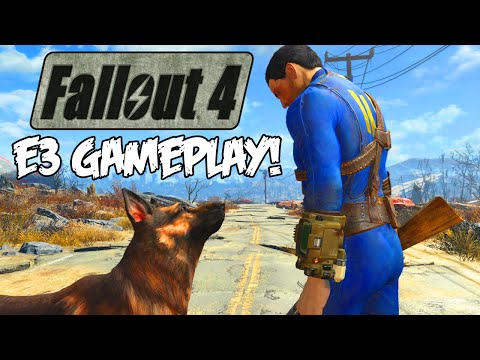 """Fallout 4"" - Official E3 2015 Gameplay Trailer, News, & Release Date! (Fallout 4 Gameplay)"