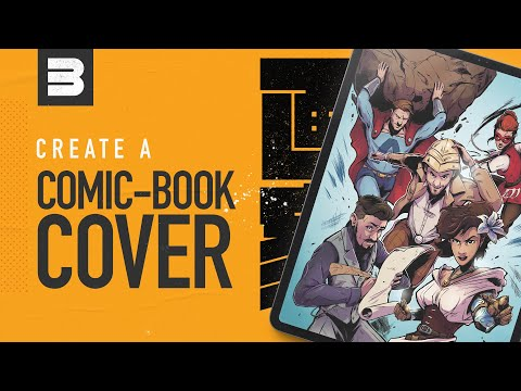 How to create a comic book cover: My process