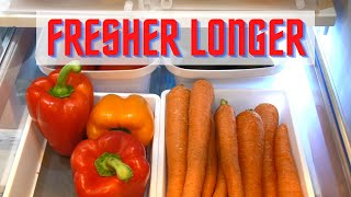 How to Keep Fruits and Vegetables Fresh Longer
