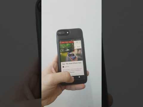 La funda para iPhone que es un móvil Android