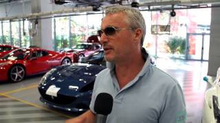 F1 2014 - Ferrari - Eddie Irvine returns to the Scuderia