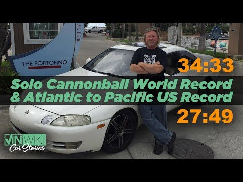 Setting the Solo Cannonball Record and Atlantic to Pacific Record