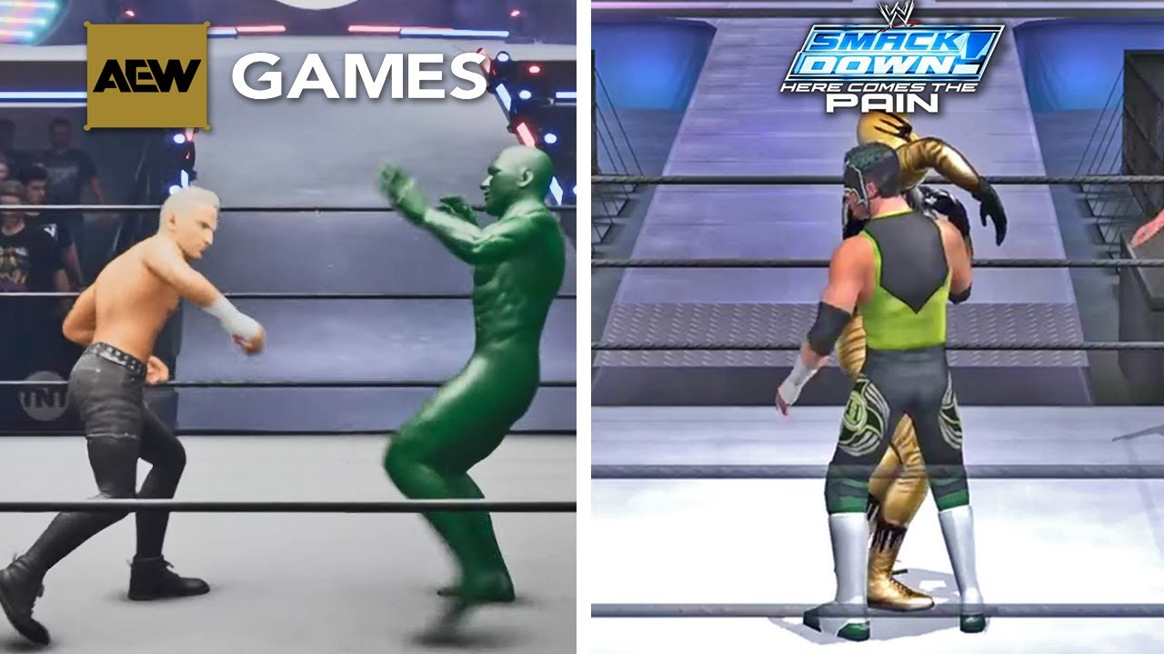 New AEW Game Is WWE Smackdown Here Comes The Pain 2.0 (First Gameplay)
