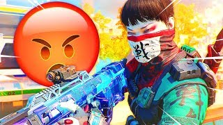 1v1 vs COCKY TRASH TALKER...😡 (Black Ops 3 RAGE)