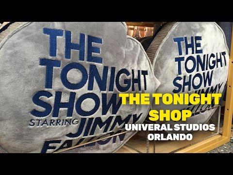 Jimmy Fallon's The Tonight Shop now open at Universal Orlando Resort