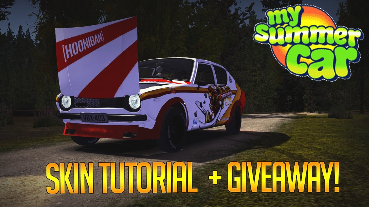 How To Custom Paint My Summer Car