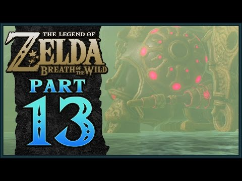 The Legend of Zelda: Breath of the Wild - Divine Beast Vah Ruta | Part 13